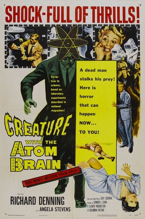 Creature with the Atom Brain - Movie Poster (thumbnail)