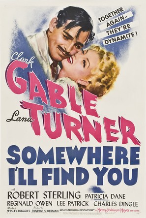 Somewhere I'll Find You - Movie Poster (thumbnail)