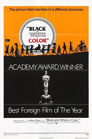 Noirs et blancs en couleur - Movie Poster (thumbnail)