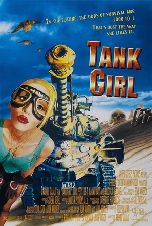 Tank Girl - Movie Poster (thumbnail)