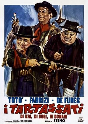 I tartassati - Italian Theatrical poster (thumbnail)