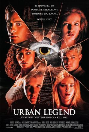 Urban Legend - Movie Poster (thumbnail)