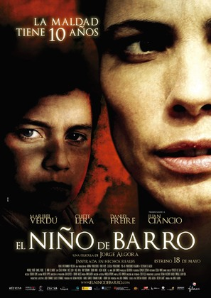 Niño de barro, El - Spanish Movie Poster (thumbnail)