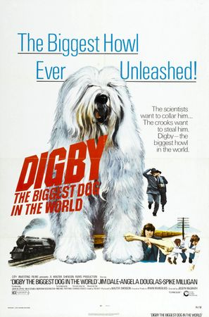 Digby, the Biggest Dog in the World - Movie Poster (thumbnail)