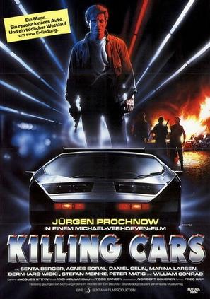 Killing Cars - German Movie Poster (thumbnail)