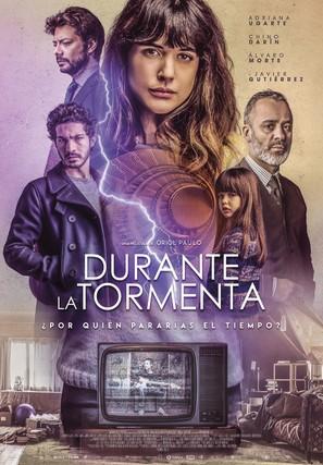 Durante la tormenta - Spanish Movie Poster (thumbnail)