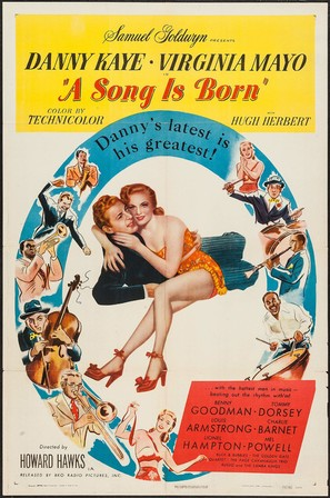A Song Is Born - Movie Poster (thumbnail)