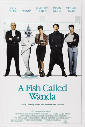 A Fish Called Wanda - Movie Poster (thumbnail)