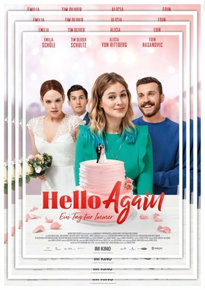Hallo Again - German Movie Poster (thumbnail)
