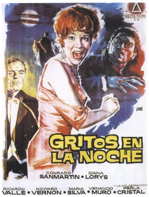 Gritos en la noche - Spanish Movie Poster (thumbnail)