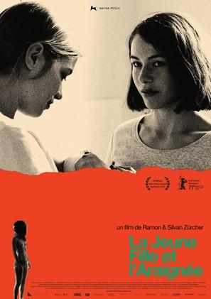 Das Mädchen und die Spinne - French Movie Poster (thumbnail)