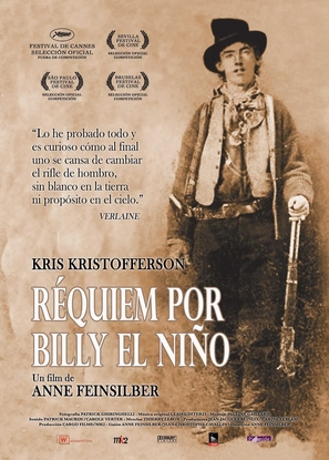 Requiem for Billy the Kid - Spanish poster (thumbnail)