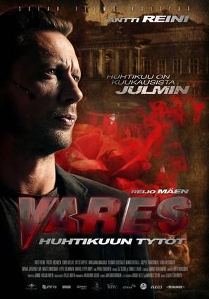 Vares - Huhtikuun tytöt - Finnish Movie Poster (thumbnail)