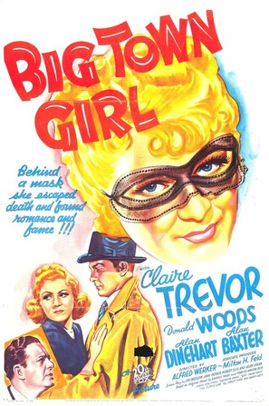 Big Town Girl - Movie Poster (thumbnail)