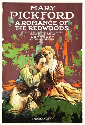 A Romance of the Redwoods - Movie Poster (thumbnail)