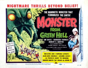 Monster from Green Hell - Theatrical movie poster (thumbnail)