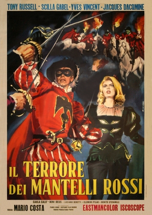 Il terrore dei mantelli rossi - Italian Movie Poster (thumbnail)