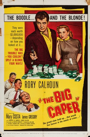 The Big Caper - Movie Poster (thumbnail)