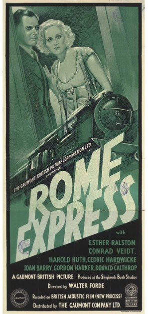 Rome Express - British Movie Poster (thumbnail)