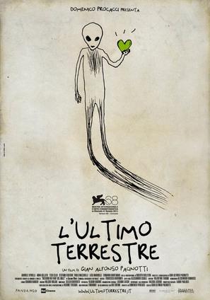 L'ultimo terrestre - Italian Movie Poster (thumbnail)