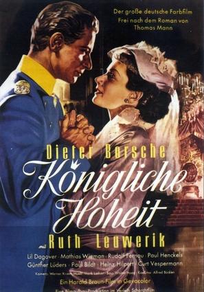 Königliche Hoheit - German Movie Poster (thumbnail)