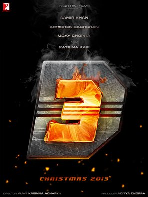 Dhoom 3 - Indian Movie Poster (thumbnail)