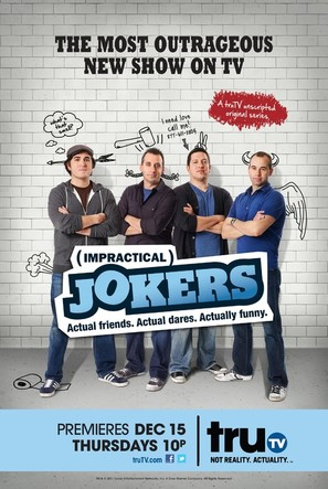 """Impractical Jokers"" - Movie Poster (thumbnail)"