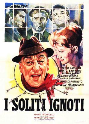 Image result for I SOLITI IGNOTI ( 1958 ) POSTER