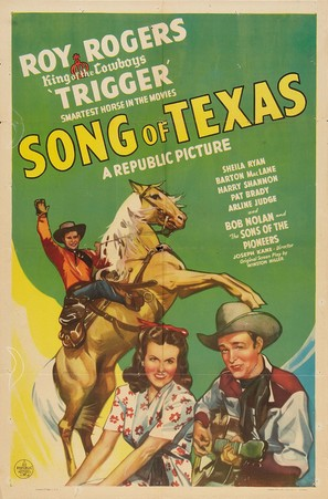 Song of Texas - Movie Poster (thumbnail)