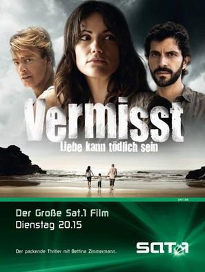 Vermisst - Liebe kann tödlich sein - German Movie Cover (thumbnail)