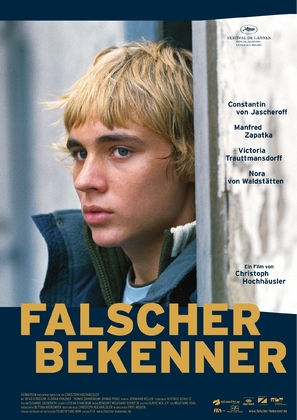 Falscher Bekenner - German Movie Poster (thumbnail)