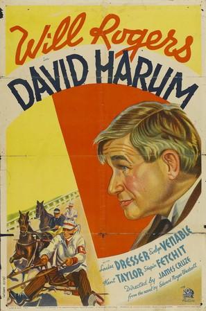 David Harum - Movie Poster (thumbnail)