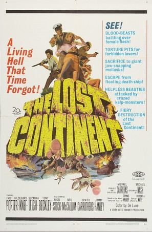 The Lost Continent - Movie Poster (thumbnail)