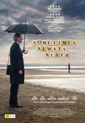 Sometimes Always Never - Australian Movie Poster (thumbnail)