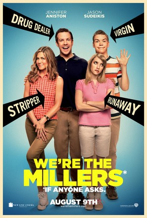 We're the Millers - Theatrical poster (thumbnail)