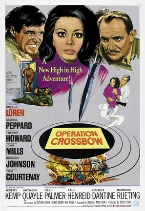 Operation Crossbow - Movie Poster (thumbnail)