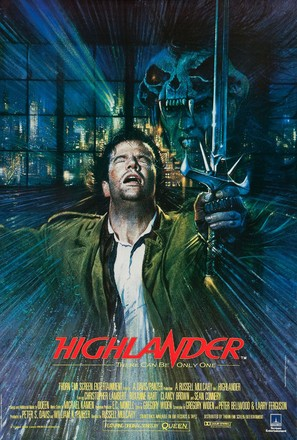 Highlander - British Movie Poster (thumbnail)