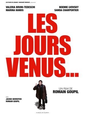 Les jours venus - French Movie Poster (thumbnail)