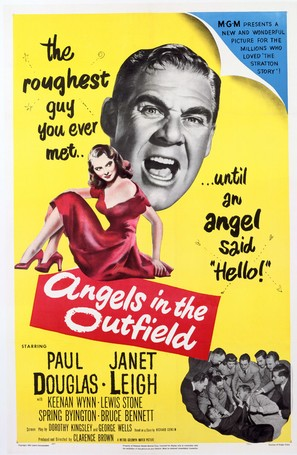 Angels in the Outfield - Movie Poster (thumbnail)