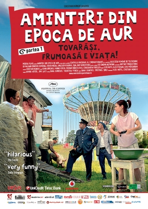 Amintiri din epoca de aur - Romanian Movie Poster (thumbnail)