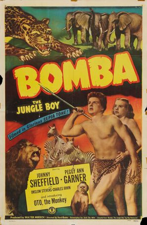 Bomba, the Jungle Boy - Movie Poster (thumbnail)