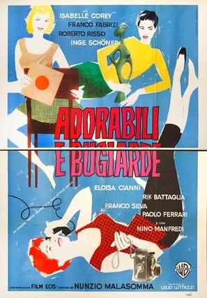 Adorabili e bugiarde - Italian Movie Poster (thumbnail)