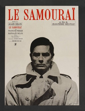 Le samouraï - French Movie Poster (thumbnail)