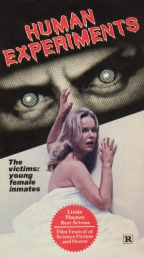 Human Experiments - VHS movie cover (thumbnail)