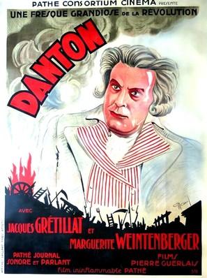 Danton - French Movie Poster (thumbnail)