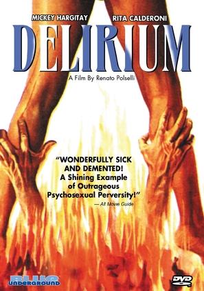 Delirio caldo - DVD cover (thumbnail)