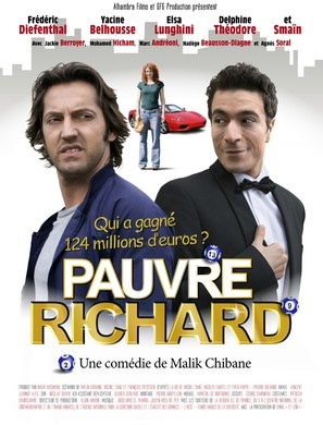 Pauvre Richard! - French Movie Poster (thumbnail)