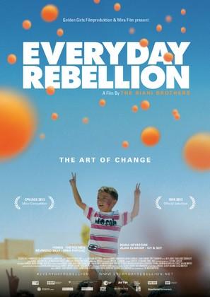 Everyday Rebellion - Austrian Movie Poster (thumbnail)