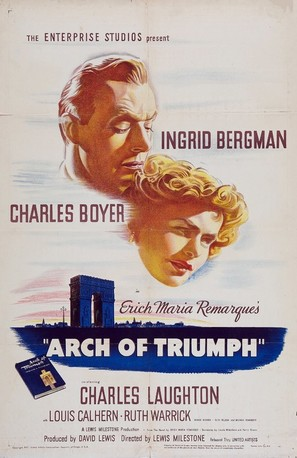 Arch of Triumph - Movie Poster (thumbnail)
