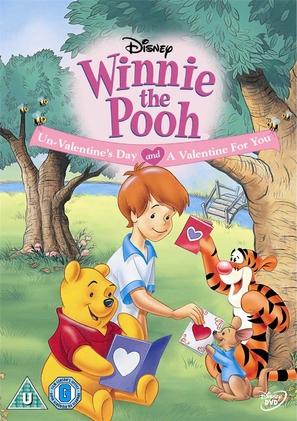 Winnie the Pooh Un-Valentine's Day - British DVD movie cover (thumbnail)
